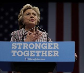 Clinton Hits Trump for 'Strongman Approach'