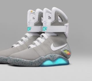 Nike Raffles 'Back to the Future' Self-Tying Shoes