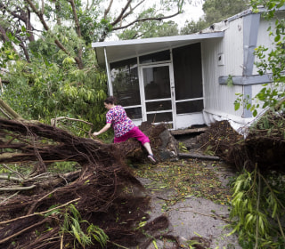 Hurricane Matthew Pounds Florida Coast