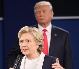 Presidential Debate: Trump Accused of 'Stalking' Clinton on Stage