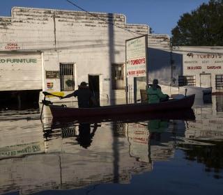 North Carolina Wades Through Post-Hurricane Flooding