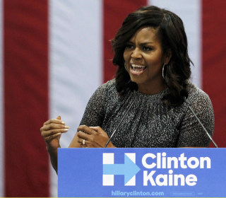 First Lady Michelle Obama: Trump Threatening 'Very Idea of America'