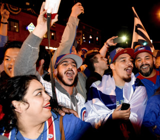From Goat to Gloat: Cubs Fans Celebrate First World Series Appearance Since 1945