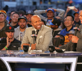 Charles Barkley and Kenny Smith Talk Race and Sports in America