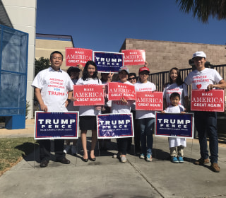 Determination, Discontent Grow in Trump Asian-American, Pacific Islander Outreach Effort