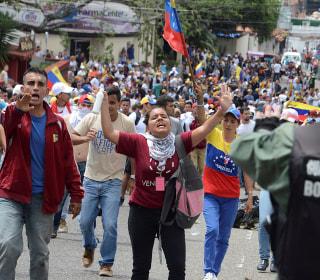 Huge Protests Seek End of Socialist Rule in Venezuela