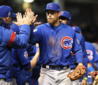 Chicago Cubs Beat Cleveland Indians in Game 2 to Tie World Series at 1-1