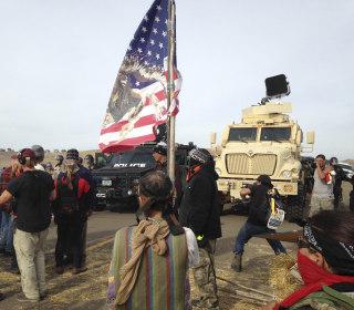 Dakota Access Pipeline: Authorities Start Arresting Protesters in New Camp