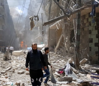In Aleppo, Diplomacy Is Still The Best Option, Says U.S. Military Commander