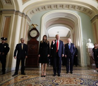 In Capitol Hill Meetings, Donald Trump Reveals His Top Priorities
