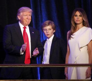 melania barron will move eventually many trump family questions remain