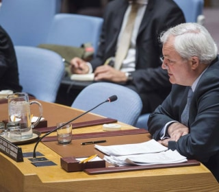 U.N. Official: Nearly A Million Syrians Are Living Under Siege