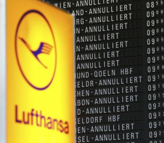 Lufthansa Pilots Start Two-Day Strike, Hundreds of Flights Canceled