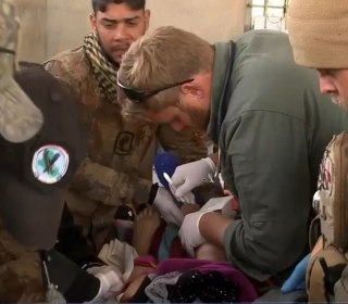 Meet Two American Medics Saving Lives on Front Lines of Mosul Battle