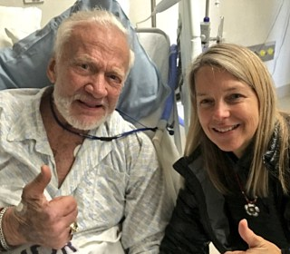 Buzz Aldrin Gets a Visit From NASA While Recovering in New Zealand Hospital