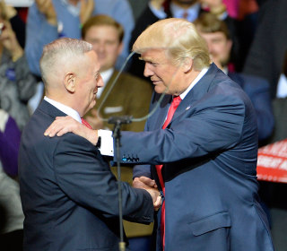 Trump Lays Out Plans to Rebuild Military, 'Officially' Announces Mattis