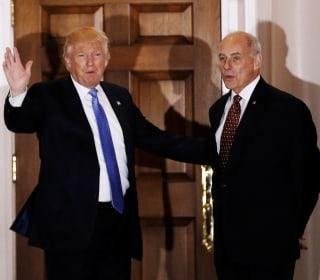 Trump Chooses Gen. John Kelly to Lead Homeland Security