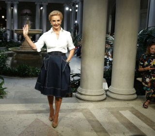 Carolina Herrera: 'An Honor' To Dress Future First Lady Melania Trump