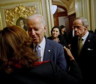 Senate Celebrates 'Friend' Joe Biden, Paying Tribute to 44-Year Career