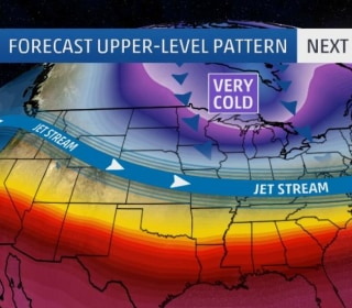 Season's First Arctic Blast Brings Subzero Temperatures to Plains