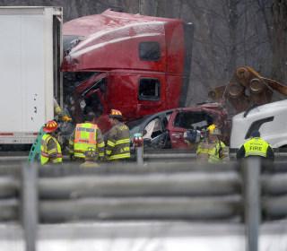 3 Die in Michigan Pileup as Snow Socks Great Lakes
