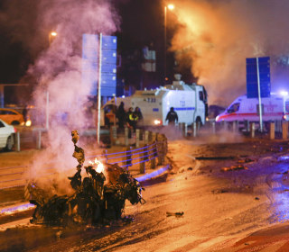 20 Injured After Two Blasts Hit Near Istanbul Soccer Stadium