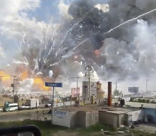 Mexico fireworks explosion: At least 31 dead as investigators search for cause