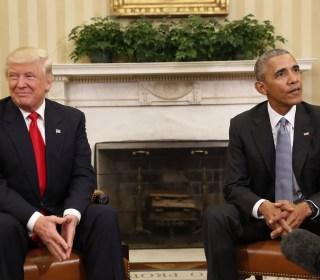 Trump Takes a Wrecking Ball to Two Obama Legacies
