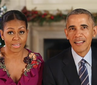 'Merry Christmas Everybody': Obamas Share Final Holiday Address