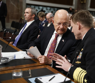 DNI Chief Clapper Takes Swipe at Trump, Assange as He Defends Russia Hack Intel