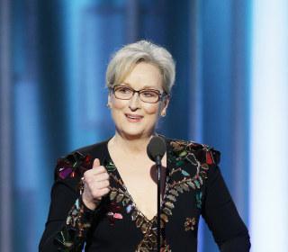 Meryl Streep Takes on Donald Trump at Golden Globes