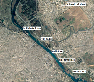 Mosul Bridges Are Key to Liberating ISIS Stronghold