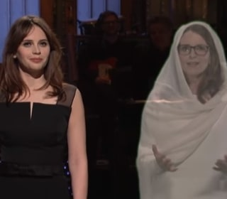 Watch Tina Fey's Return to 'SNL' — as a 'Star Wars'-Style Hologram