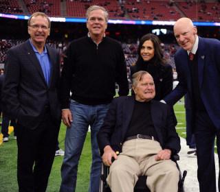 George H.W. Bush Hospitalized for 'Shortness of Breath'