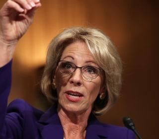 Betsy DeVos: Schools Might Need Guns Due to 'Potential Grizzlies'