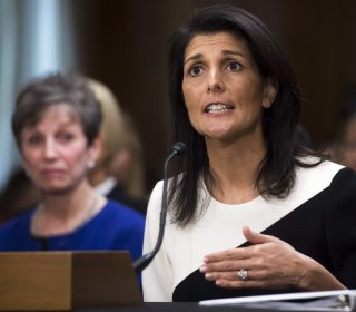 Nikki Haley Becomes Latest Trump Cabinet Pick to Criticize Russia