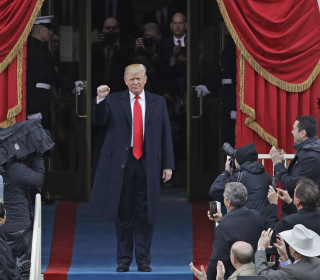 President Trump: Scenes from the Inauguration