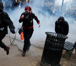 Dozens Arrested in Anti-Trump Protests Around Inauguration