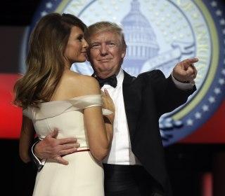 Inauguration Done, President Trump Celebrates at Balls