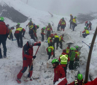 Italy Hotel Avalanche: Rescue Teams Hold Out Hope For More Survivors