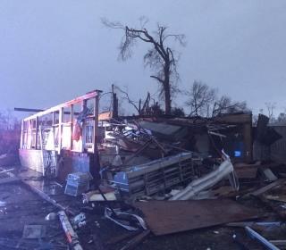 Deadly Tornado Strikes Hattiesburg, Miss. Causing 'Extensive Damage'