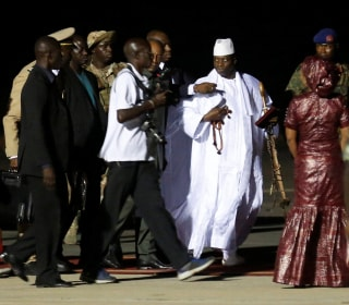 Gambia's Defeated Leader Yahya Jammeh Leaves Country, Ends Standoff