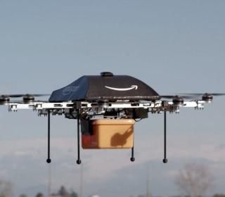 Amazon's Latest Drone Would Parachute Parcels Into Your Backyard