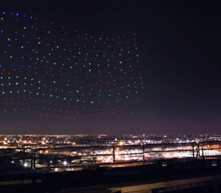 The Secret Behind Those Super Bowl Half-Time Show Drones
