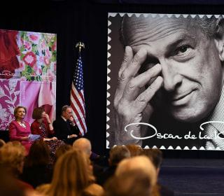Oscar de la Renta Is Honored with Postage Stamp