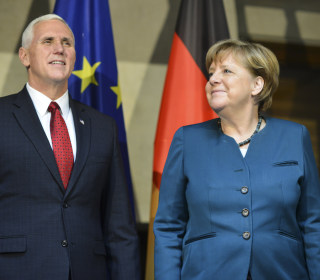 Pence Tells Europe: US Backs NATO, Will Put ISIS on 'Ash-Heap'