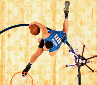 Video: NBA Player Uses Drone For Assistance in Dunk Contest