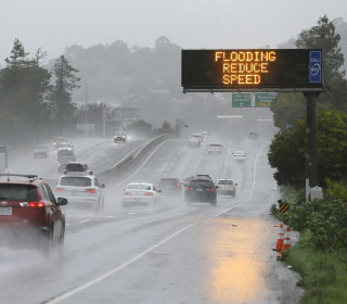 Northern, Central California Gear Up for Yet Another Drenching Rainstorm
