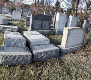 Vandals Damage Headstones at Jewish Cemetery in Philadelphia