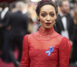 Why Some Oscars Nominees Are Wearing a Blue Ribbon